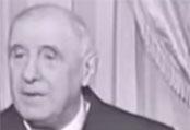 Quand De Gaulle dénoncait le régime des partis