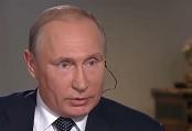 Vladimir Poutine reçoit