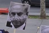 14.01.2018 - Manifestation contre la visite de Netanyahou à Paris