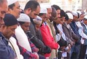 22.10.2016 - Des musulmans protestent devant le Colisée...