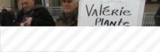 22.01.2018 - Ouest de l'île de Montréal : manifestation contre le budget Plante