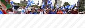 19.08.2018 - Manifestation contre l'immigration illégale à Laval