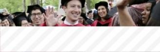 27.05.2017 - Enfin diplômé de Harvard, Mark Zuckerberg plaide en faveur du revenu universel