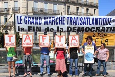 Les documents du traité divulgués le confirment : le TTIP (comme l'AECG) est un accord commercial qui menace la démocratie