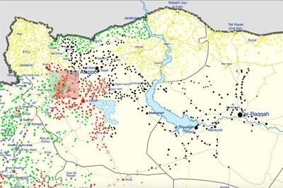 Alep, Al-Bab, Raqqa : un état des lieux du conflit en Syrie