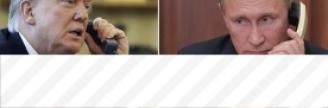 22.11.2017 - Au téléphone avec Trump, Poutine rappelle son attachement à la souveraineté de la...