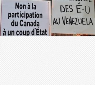 Qui se soucie de l'ingérence d'Ottawa dans les élections au Venezuela?