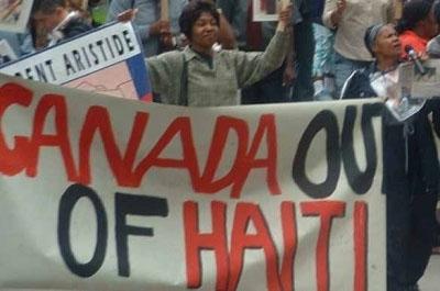 Le rôle de l'ACDI et les ONG dans le coup de 2004 en Haïti