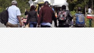 Vidéo - Immigration clandestine : tous les chemins mènent à Roxham Road