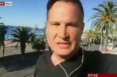 Le même photographe propagandiste israélien pré-positionné à Nice se retrouve maintenant à Munich !